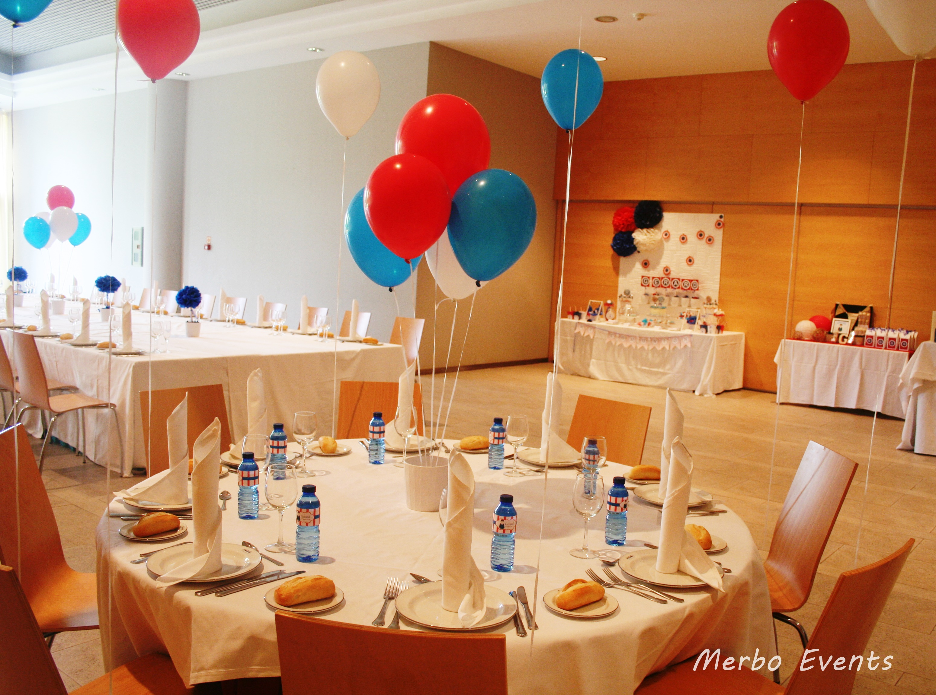 Comuniones merbo events - Decoracion con chuches para comuniones ...