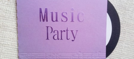 Incitaciones Music Party Merbo Events