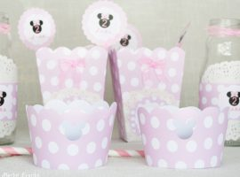 Wrappers para decorar cupcakes