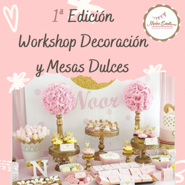 Taller Mesas dulces online