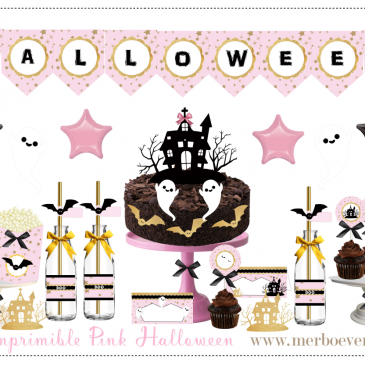 Kit imprimible Halloween gratuito